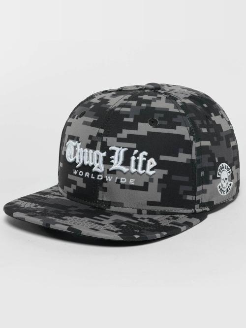 Thug Life snapback cap Digital camouflage