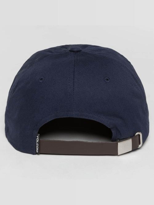 Volcom Snapback Cap Stone Battery blau
