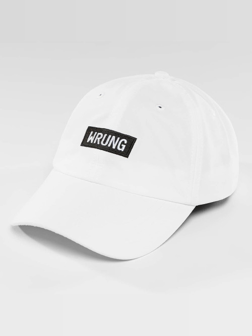 Wrung Division snapback cap Small Box wit