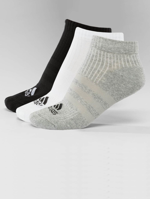 adidas Performance Sukat Performance 3-Stripes No Show 3-Pairs musta