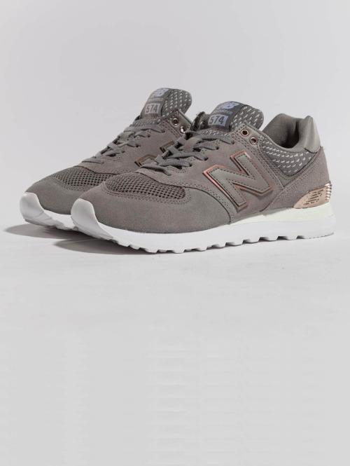 New Balance sneaker WL574FSC grijs