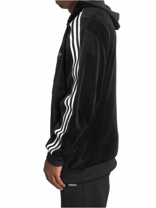 adidas originals Hoody Cozy Half Zip schwarz