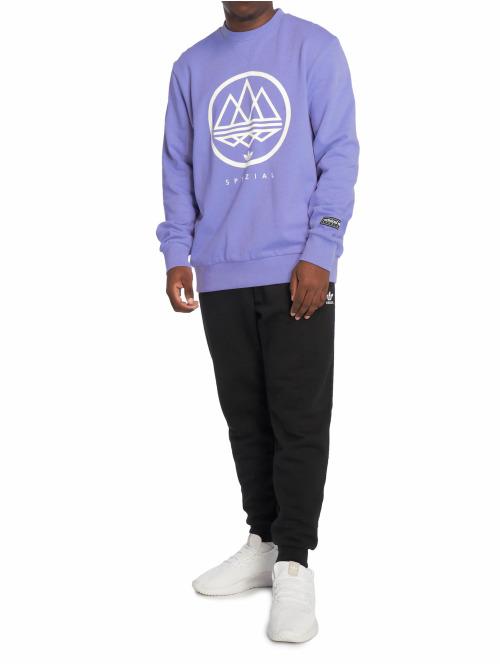 adidas originals Pullover Mod Trefoil violet