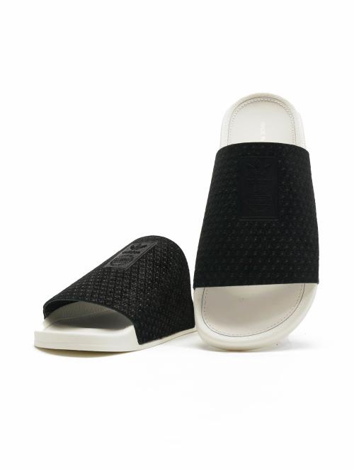adidas originals Sandalen Adilette Luxe schwarz