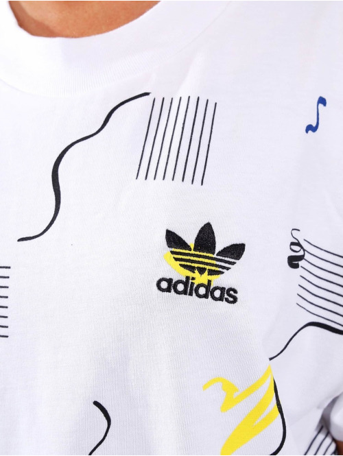 adidas originals T-Shirt Color Dab weiß