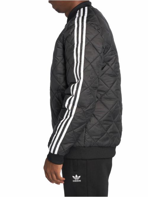 adidas originals Übergangsjacke SST Quilted schwarz