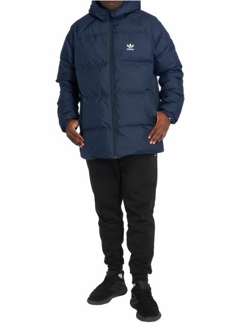 adidas originals Winterjacke Sst blau
