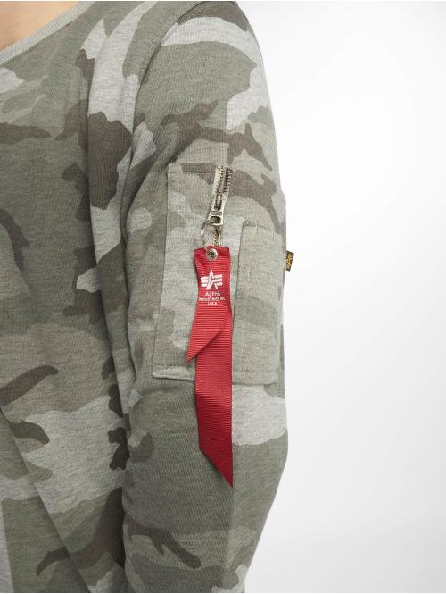 Alpha Industries Pullover Camo Half camouflage