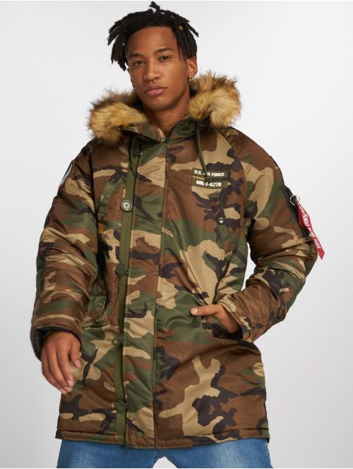 Alpha Industries Winterjacke N3B Airbone camouflage