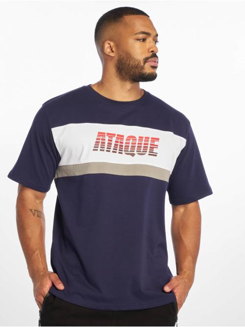 Ataque T-skjorter  Goya T-Shirt Navy/RED...