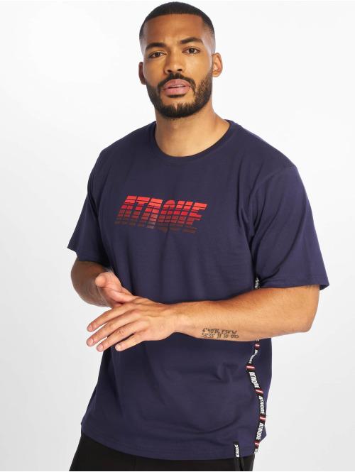 Ataque T-skjorter  Junin T-Shirt Navy/Red...