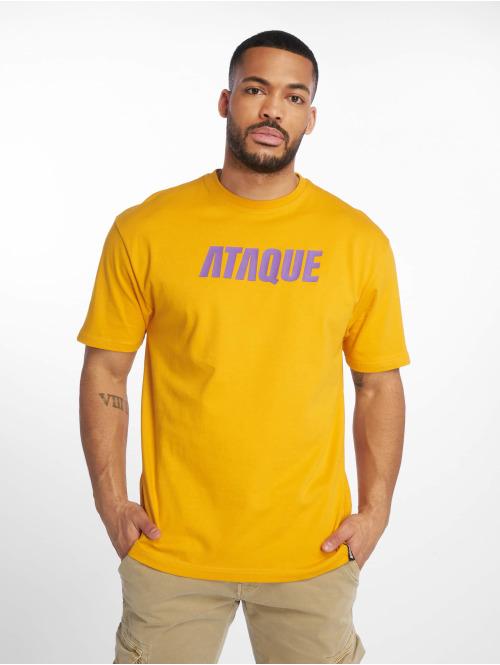 Ataque T-skjorter  Leon T-Shirt orange...