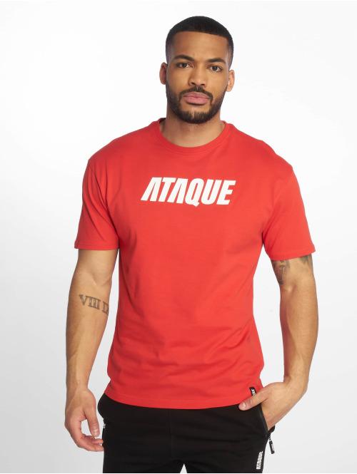 Ataque T-skjorter  Leon T-Shirt red...