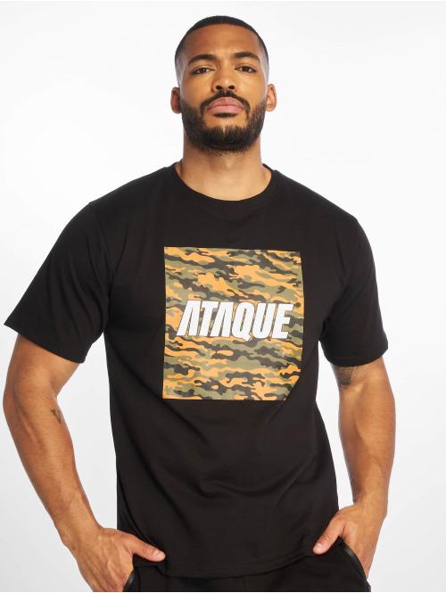 Ataque T-skjorter  Palmira T-Shirt Black...