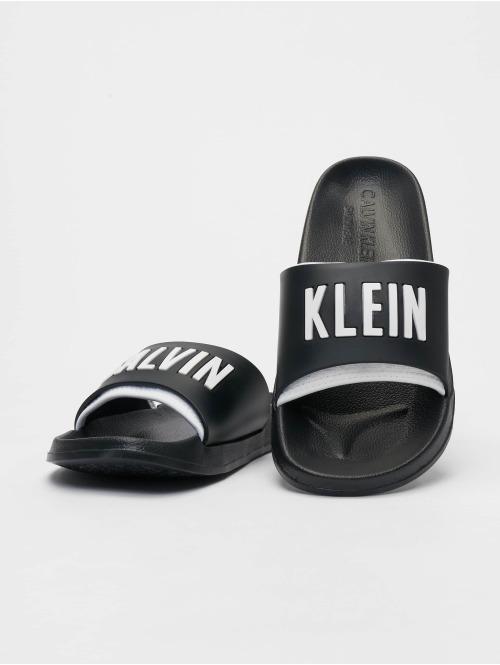 Calvin Klein Sandalen Logo schwarz