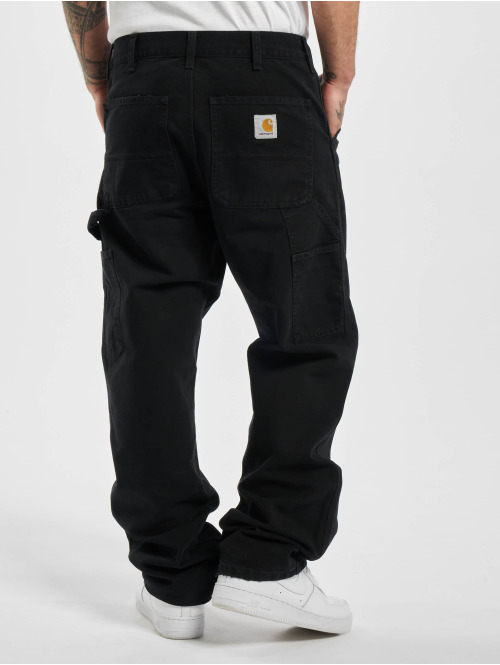 Carhartt WIP Chino Single Knee schwarz