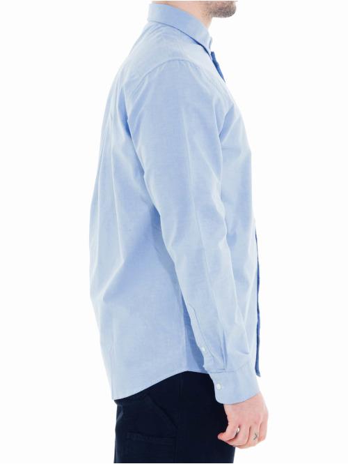 Carhartt WIP Hemd Button Down Pocket blau