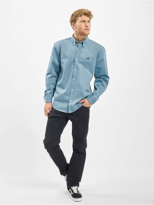 Carhartt WIP Hemd Madison blau