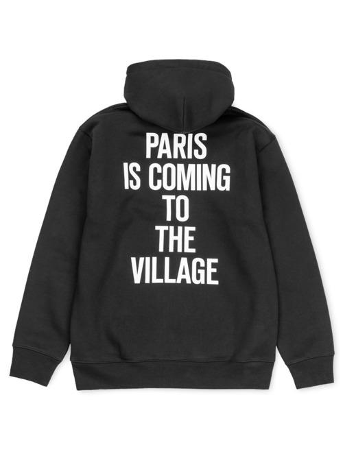 Carhartt WIP Hoody Tvc Paris schwarz