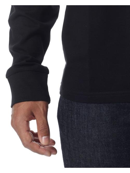 Carhartt WIP Longsleeve LS Pocket schwarz