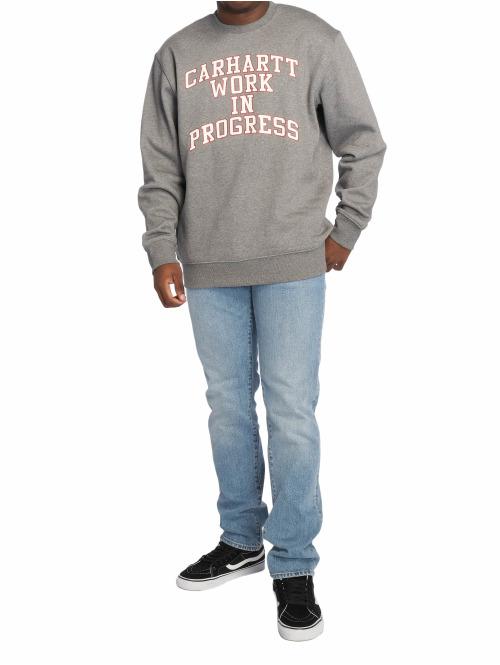 Carhartt WIP Pullover Wip Division grau