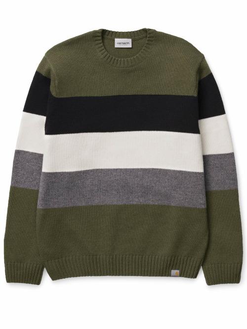 Carhartt WIP Pullover Golden Sweater grün