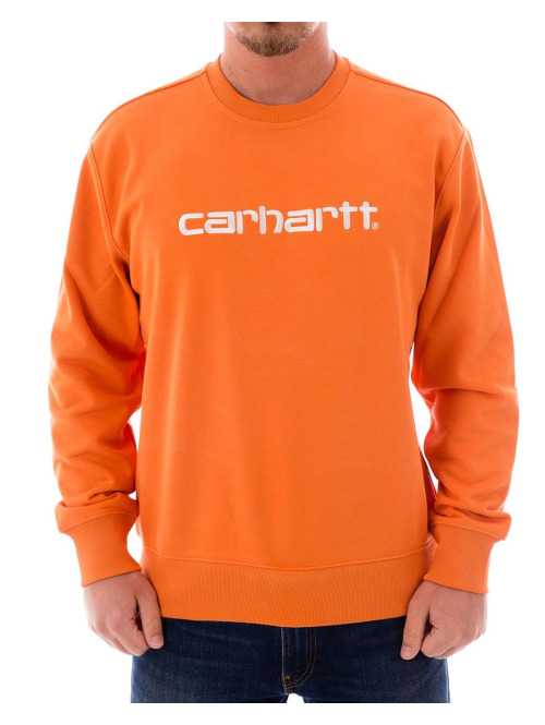 Carhartt WIP Pullover Sweat orange