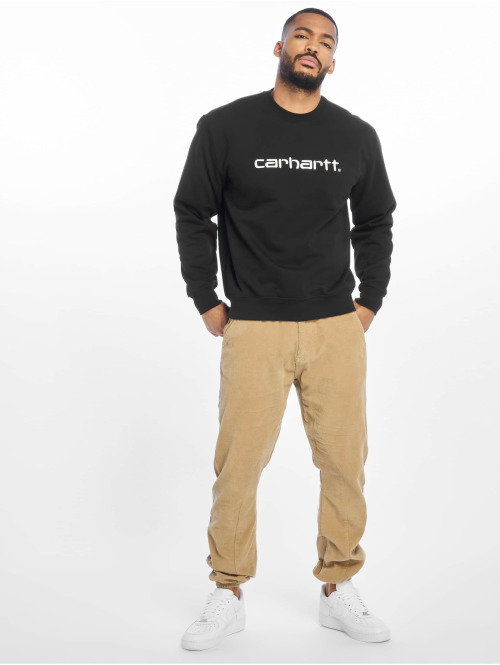 Carhartt WIP Pullover Label schwarz