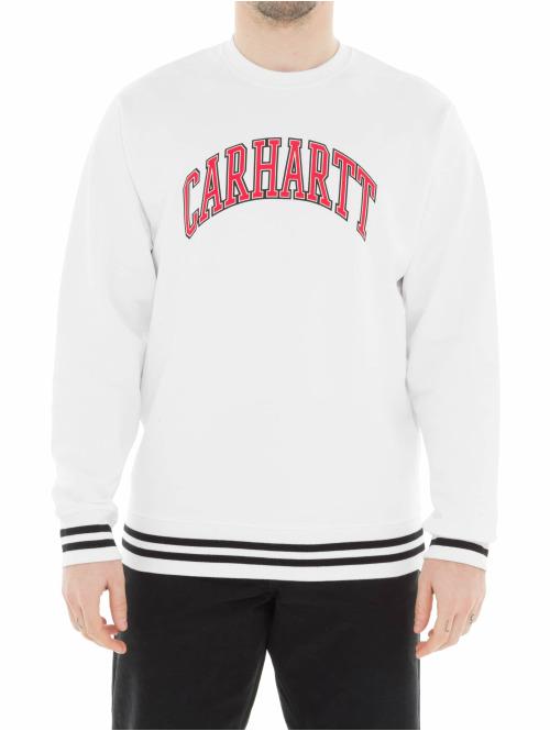 Carhartt WIP Pullover Knowledge weiß