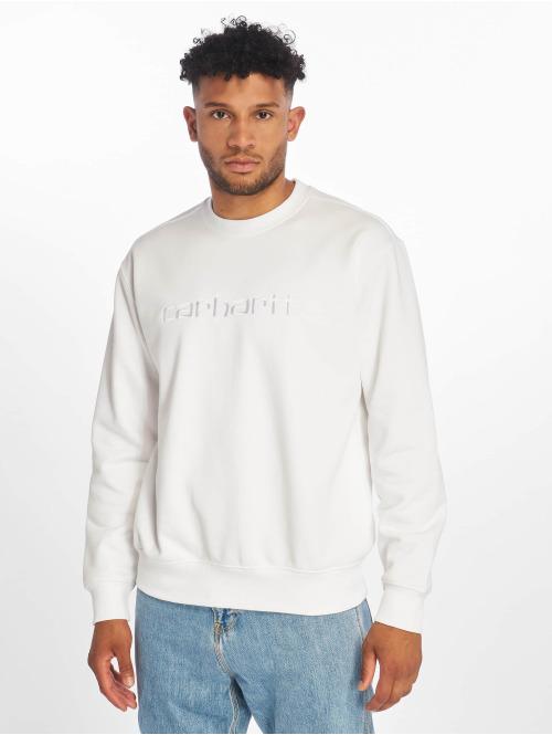 Carhartt WIP Pullover Label weiß