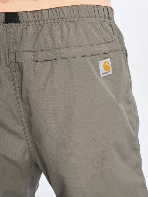 Carhartt WIP Shorts Poplin Cotton Lane Clover grau