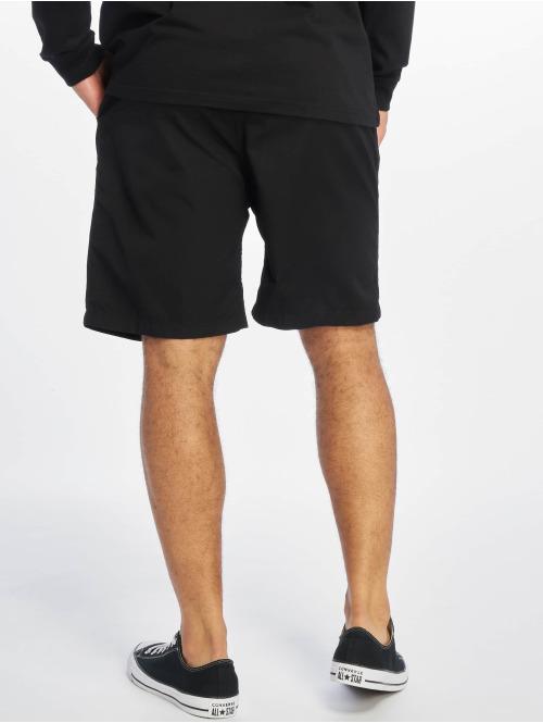 Carhartt WIP Shorts Poplin Cotton Lane Clover schwarz