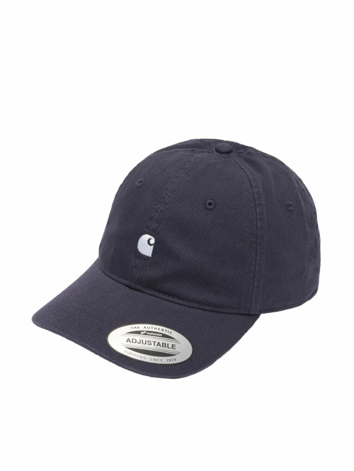 Carhartt WIP Snapback Cap Madison Logo blau