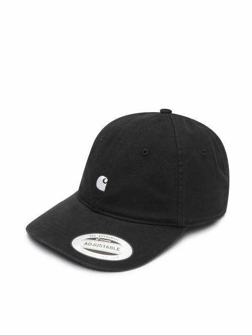 Carhartt WIP Snapback Cap Madison Logo schwarz