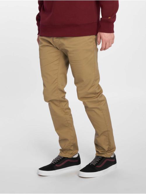 Carhartt WIP Straight Fit Jeans Klondike beige