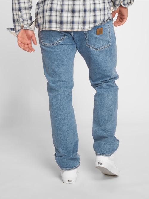 Carhartt WIP Straight Fit Jeans Mills Klondike blau