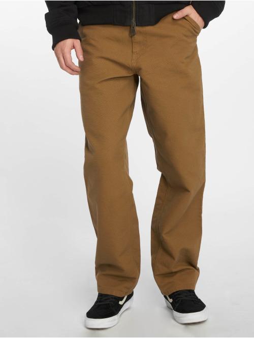 Carhartt WIP Straight Fit Jeans Single Knee braun