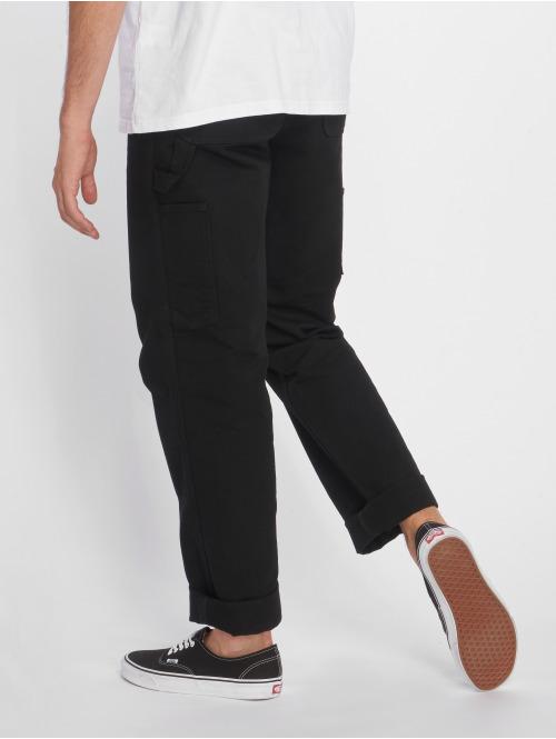 Carhartt WIP Straight Fit Jeans Single Knee schwarz