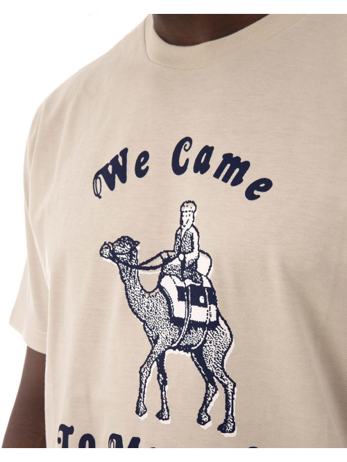 Carhartt WIP T-Shirt We Came To Move On beige