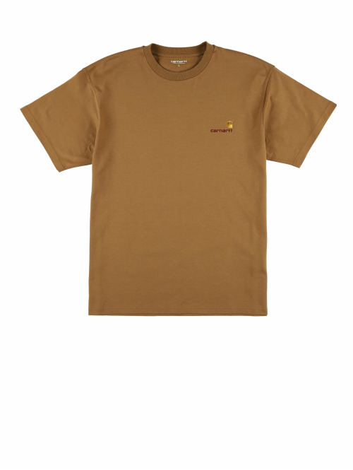 Carhartt WIP T-Shirt Wip American Script braun