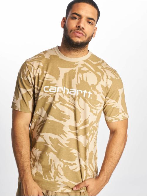 Carhartt WIP T-Shirt Script camouflage
