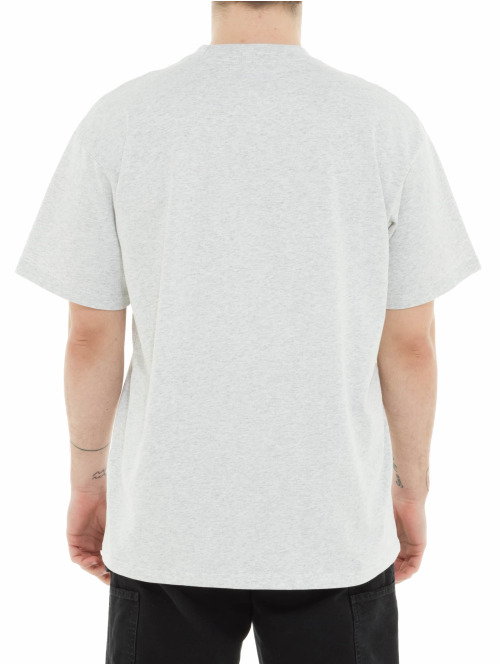 Carhartt WIP T-Shirt Knowledge grau