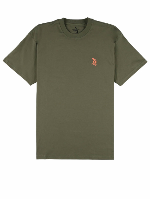 Carhartt WIP T-Shirt Power Vagabonds grün
