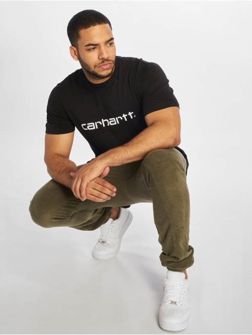Carhartt WIP T-Shirt Script schwarz