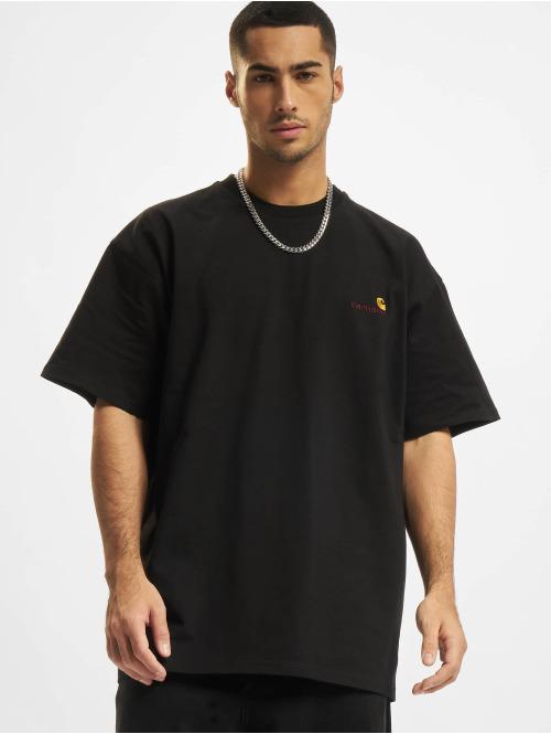 Carhartt WIP T-Shirt American Script schwarz