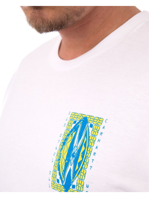 Carhartt WIP T-Shirt Masks weiß