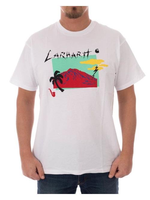 Carhartt WIP T-Shirt Anderson weiß
