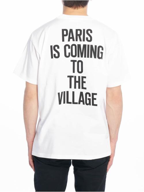 Carhartt WIP T-Shirt Tvc Paris weiß
