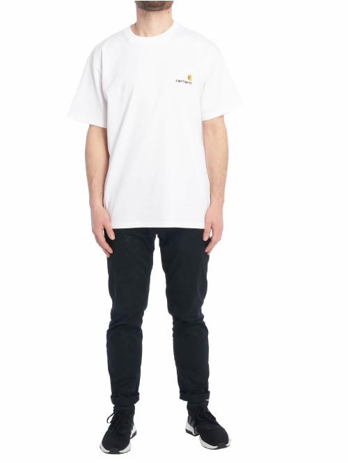 Carhartt WIP T-Shirt American Script weiß