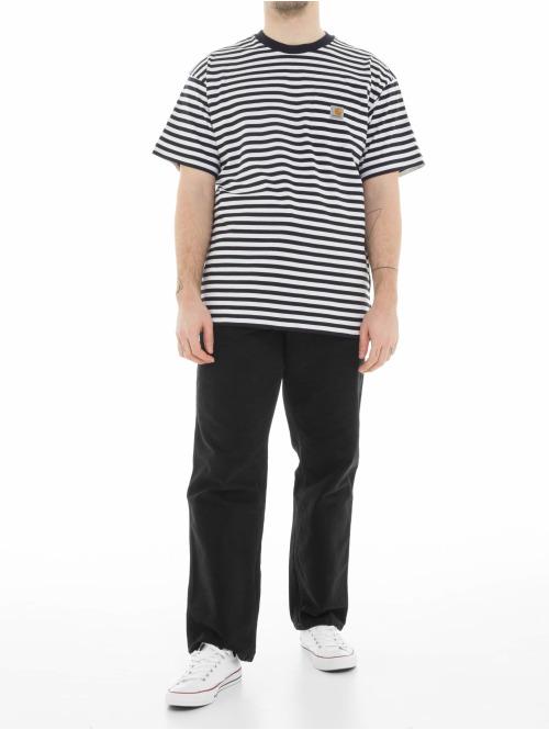 Carhartt WIP T-Shirt Barkley Pocket weiß